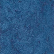 Линолеум натуральный Forbo Marmoleum Real Blue 3030 2 мм 2х32 м